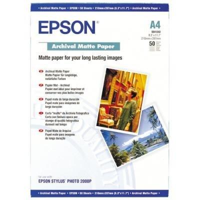 EPSON fotopapír C13S041342/ A4/ Archive matte / 50ks