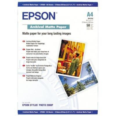 Fotopapír Epson Archive matte A4 50ks