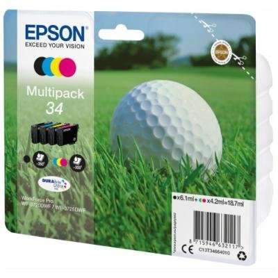 Inkoustová náplň Epson 34 multipack