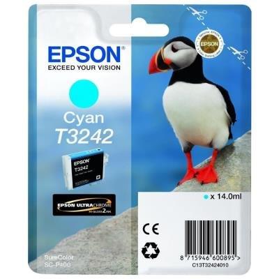 Inkoustová náplň Epson T3242 modrá