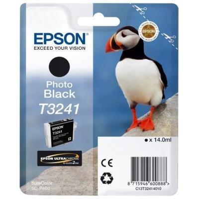 Inkoustová náplň Epson T3241 foto černá