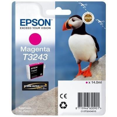 Inkoustová náplň Epson T3243 červená