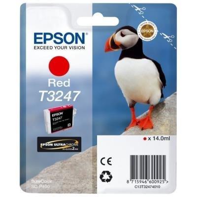 Inkoustová náplň Epson T3247 červená