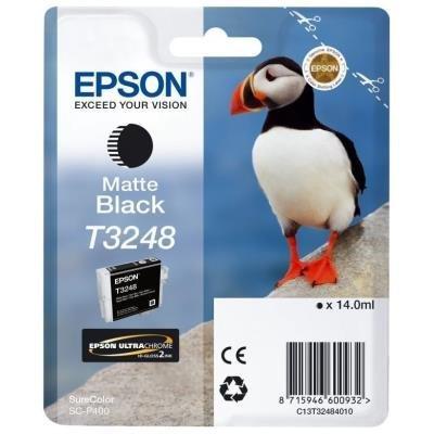 Inkoustová náplň Epson T3248 matná černá