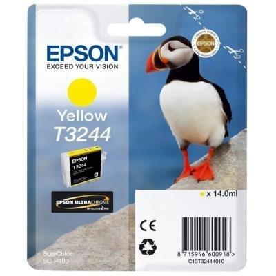Inkoustová náplň Epson T3244 žlutá