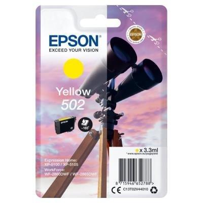 Epson 502 žlutá