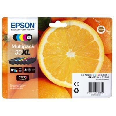 Inkoustová náplň Epson 33XL CMYK + foto černá