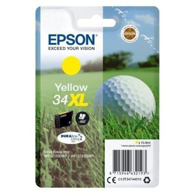 Inkoustová náplň Epson 34XL žlutá