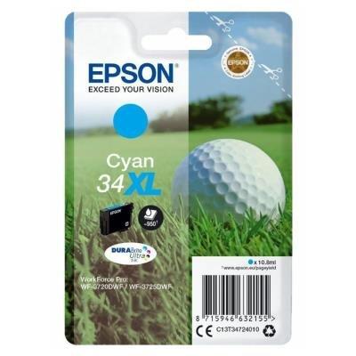 Inkoustová náplň Epson 34XL modrá