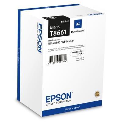 Inkoustová náplň Epson T8661 XL černá