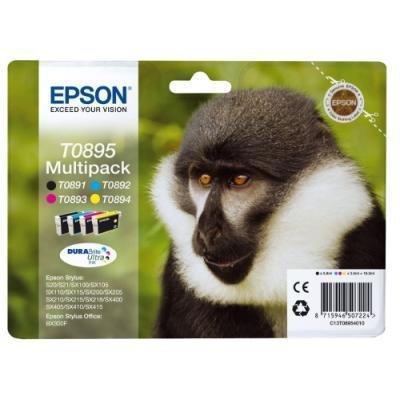 Inkoustová náplň Epson T0895 CMYK