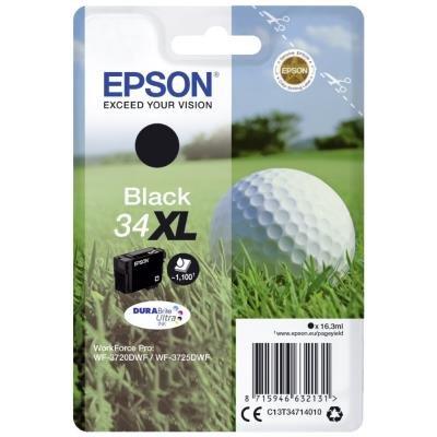 Inkoustová náplň Epson 34XL černá