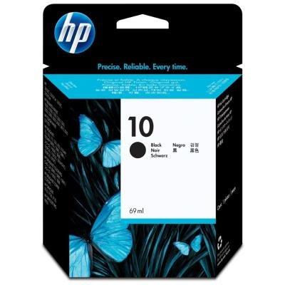 Inkoustová náplň HP 10 (C4844A) černá