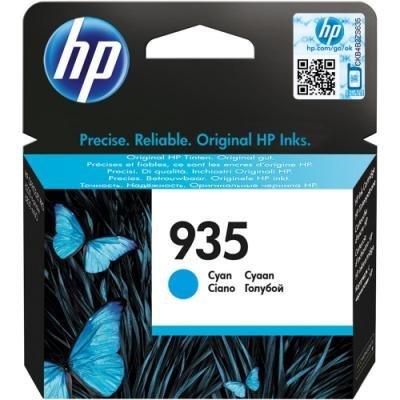 Inkoustová náplň HP 935 (C2P20AE) modrá