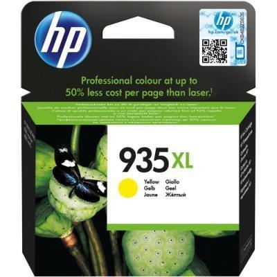 Inkoustová náplň HP 935XL (C2P26AE) žlutá