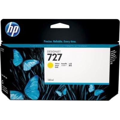 Inkoustová náplň HP 727 (B3P21A) žlutá