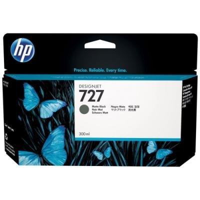 Inkoustová náplň HP 727 (C1Q12A) černá matná