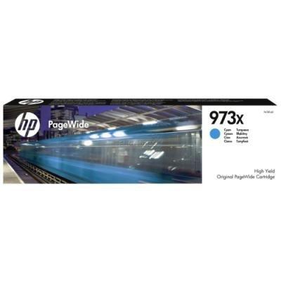 Inkoustová náplň HP 973X (F6T81AE) modrá