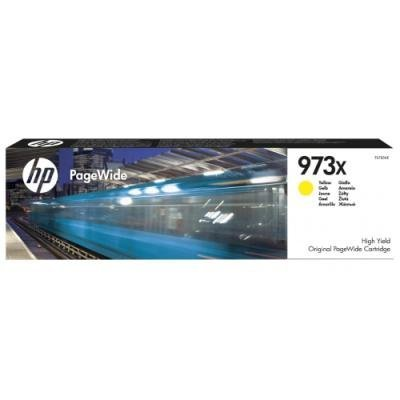 Inkoustová náplň HP 973X (F6T83AE) žlutá