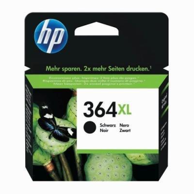 Inkoustová náplň HP 364XL (CN684EE) černá