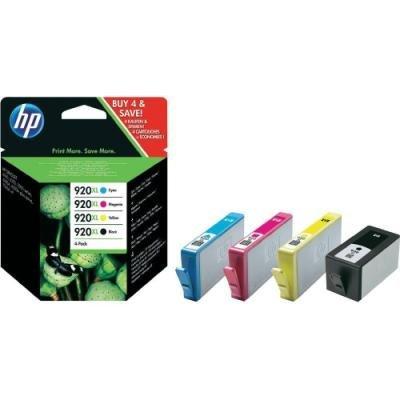 Inkoustová náplň HP 920XL (C2N92AE) CMYK