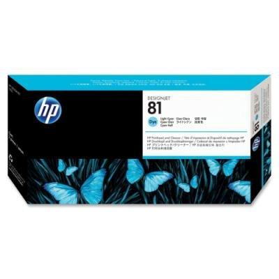 Tisková hlava HP 81 (C4954A) světle modrá