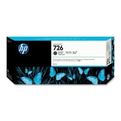 Inkoustová náplň HP 726 (CH575A) matná černá