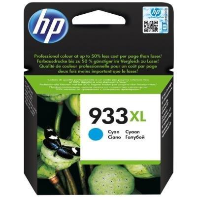 Inkoustová náplň HP 933XL (CN054AE) modrá