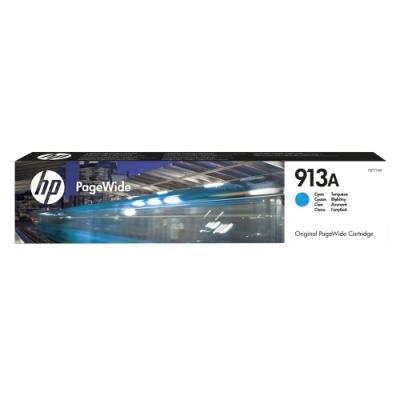 Inkoustová náplň HP 913A (F6T77AE) modrá