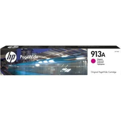 Inkoustová náplň HP 913A (F6T78AE) červená