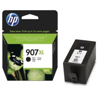 Inkoustová náplň HP 907XL (T6M19AE) černá