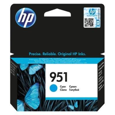 Inkoustová náplň HP 951 (CN050AE) modrá