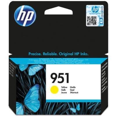 Inkoustová náplň HP 951 (CN052AE) žlutá