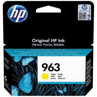 Inkoustová náplň HP 963 (3JA25AE) žlutá