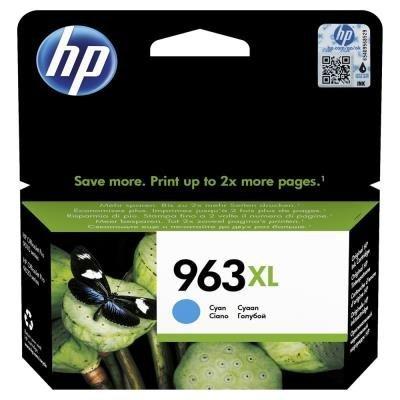 Inkoustová náplň HP 963XL (3JA27AE) modrá