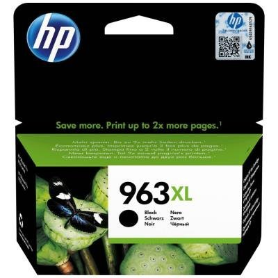 Inkoustová náplň HP 963XL (3JA30AE) černá