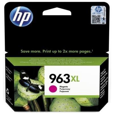 Inkoustová náplň HP 963XL (3JA28AE) červená
