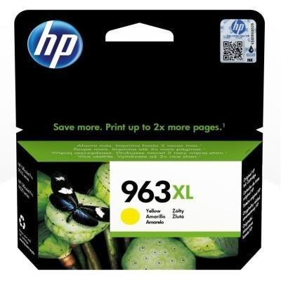 Inkoustová náplň HP 963XL (3JA29AE) žlutá