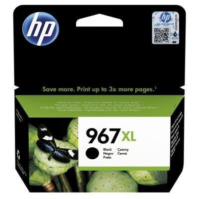 Inkoustová náplň HP 967XL (3JA31AE) černá