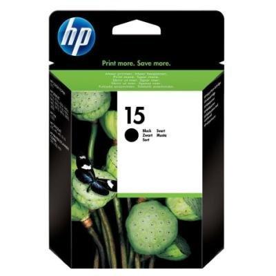 Inkoustová náplň HP 15 (C6615DE) černá