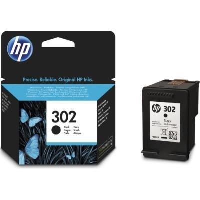 HP inkoustová kazeta 302 černá F6U66AE originál
