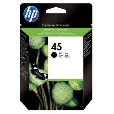 Inkoustová náplň HP 45 (51645AE) černá