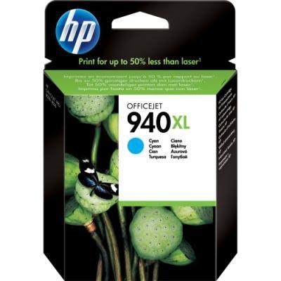 Inkoustová náplň HP 940XL (C4907AE) modrá
