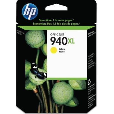 Inkoustová náplň HP 940XL (CH561EE) žlutá