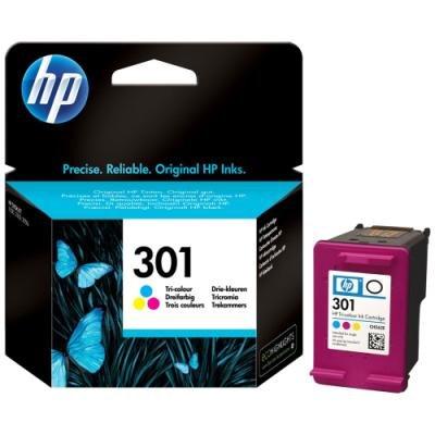 Inkoustová náplň HP 301 (CH562EE) CMY