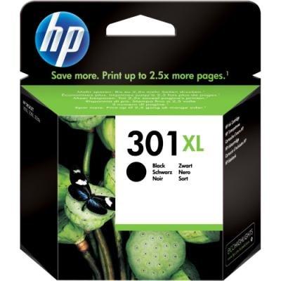 Inkoustová náplň HP 301XL (CH563EE) černá