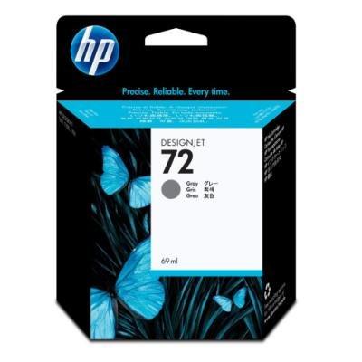 Inkoustová náplň HP 72 (C9401A) šedá