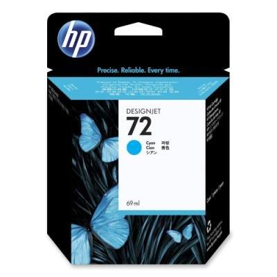 Inkoustová náplň HP 72 (C9398A) modrá