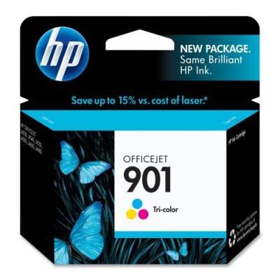 Inkoustová náplň HP 901 (CC656AE) CMY