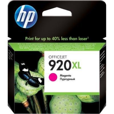 Inkoustová náplň HP 920XL (CD973AE) červená